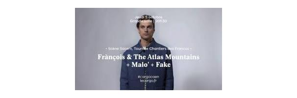Fake + Malo' + François & The Atlas Mountains - Cargö, Caen 5 octobre 2017